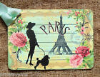 Hang Tags  PARIS EIFFEL TOWER ROSE POODLE TAGS or MAGNET #400  Gift Tags