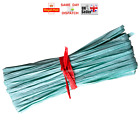 1m 50m 100m Raffia Paper Ribbon Gift Wedding Decorating Scrapbook AQUAMARINE