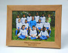 Personalised Photo Frame, Solid Oak, 5 sizes  Mothers, valentines day