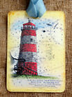 Hang Tags  SEASHORE LIGHTHOUSE BEACH TAGS or MAGNET #352  Gift Tags