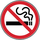 NO SMOKING SAFETY DOOR WINDOW WALL STICKER SIGN **2 SIZES**