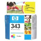 Original HP 343 C8766EE C8766 EE Colour Printer Ink Cartridge