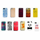 Uncommon Case Cover Black Bezel Deflector Series Hard Shell For iPhone 5 / 5S
