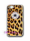 converse all star iphone 4 4s 5 5C case cover apple  vans trendy animal print,