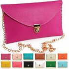 Womens Envelope Clutch Chain Purse Lady Evening Handbag Tote Shoulder Hand Bag