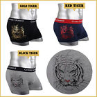 Mens Underwear NEW Young Boxer Briefs shorts Cotton Trunks Gold leaf Tiger M L