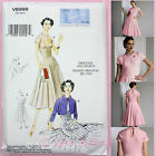 Vogue V8999 Sewing Pattern - Misses' Pullover Dress & Bolero 1950's Vintage
