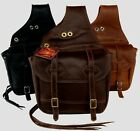 Olde Time Western Leather Saddle Bags - Hand Crafted in USA - Tucker / Circle Y