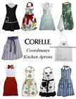 CORELLE Coordinates KITCHEN APRON w/POCKET Chef BBQ Cook *PICK Your PATTERN New
