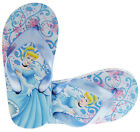 Girls DISNEY PRINCESS Fashion Summer Sandals Light Holiday Toe Post Flip Flops
