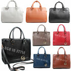 Ladies Designer Leather Style Hobo Briefcase Women Large Satchel Laptop Tote Bag
