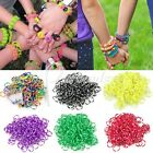 Approx 190x Polka Dot Loom Rubber Bands Refill + 1x Loom Tool + 15x S Clips