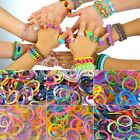 Wholesale Loom Rubber Bands Refill + S Clips Tool DIY Bracelet Glow Kit Colorful
