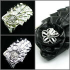 UD04 Evening Party Women Small Hand Bag Charm 3D Diamante Roses Floral Bridal