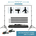 Photography 10Ft Adjustable Background Support Stand Photo Video Backdrop Kit