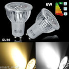 Buy 8 Get 2 Free 4/10/20x GU10 6W LED Bulbs High Power Day/Warm White Spot Light