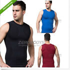 Men Body Shaper Summer Sleeveless Vest Outdoor Sports Slimming Tank Top Shirt