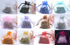 12 Colours & 5 Size! Premium ORGANZA Wedding Favour GIFT BAGS Jewellery Pouches