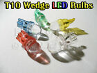 Dome LED Parker Lights Bulbs T10 194 168 Wedge White Blue Red Amber Green