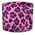 pink leopard print curtains