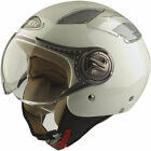 VIPER RS16 OPEN FACE MOTORCYCLE MOTORBIKE SCOOTER MOPED CITY HELMETS WHITE