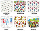 Lampshades Ideal To Match Children`s Transportation, Planes & Diggers Wallpaper