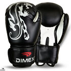 Boxing Gloves Sparring Gloves Punch Bag Training MMA Mitts Black 12oz-14oz-16oz