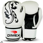 Boxing Gloves Sparring Gloves Punch Bag Training MMA Mitts White 12oz-14oz-16oz