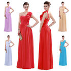 NEW Formal Long Pleated Evening Ball Gown Party Prom Bridesmaid Homecoming Dress
