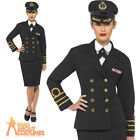 WW2 Navy Officers Costume 40s Sailor Fancy Dress Ladies Womens Outfit UK 8-22