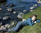 ANN BLYTH LYING BY BANK OF RIVER STUNNING PHOTO OR POSTER