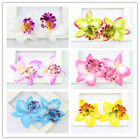 20 Pcs Phalaenopsis Orchid Artificial Fabric Flower For Flower Ball Tabble Decor