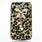 Bling Diamond Bow Gold Leopard Glitter Case Cover For Samsung S3 S4 S5 Note3