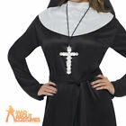 Ornate Cross Nuns Priest Pendant Religious Fancy Dress Costume Accessory New