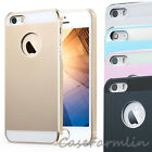 Aluminium hard case with Plastic 2 Layers cover fit iPhone5 5S screen protector