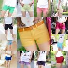 best sell summer womens ladies new shorts slim fit hot pants casual shorts size