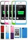 2500mAh Portable Battery Charger Case Power Bank iPhone 4 4s FREE SCREEN PROTECT