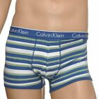 Calvin Klein Underwear Mens CK One Trunk Boxer Brief, Boxer Stripe Magnetic Blue