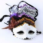 Unisex Sexy Charm Venetian Lace Party Ball Masquerade Wedding Mask V121 GBW