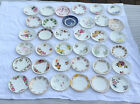 Vintage Bone China England Saucers Mixed Patterns & Potteries Free Post