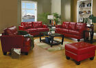 Modern Sofa set 4pc Sofa Couch Living room Furniture Sofa Loveseat Chair Ottoman