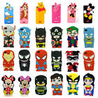 Hot 3D Cartoon Superhero Soft Silicone Rubber Case Cover For iPhone 6 4S 5S G357