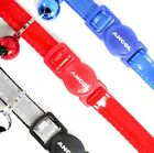 Ancol Reflective Cat Collar Safety or Gloss Reflective Cat Collars with Bell