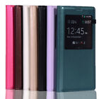New Luxury View Window Flip Leather Case Cover for Samsung Galaxy S5 V i9600
