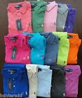 NWT Ralph Lauren Men's Short Sleeved Classic Solid Mesh Polo Shirt S M L XL NEW