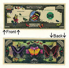 Butterflies One Million Dollars Bill Novelty Notes 1 5 25 50 100 500 or 1000