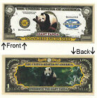 Endangered Panda 1 Million Dollar Novelty Notes 1 5 25 50 100 500 or 1000