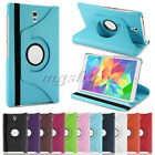 360°Rotating Leather Cover Case Stand For Samsung Galaxy Tab S Tablet T700 T800