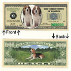 Beagle 1 Million Doggie Bones Bill Novelty Notes 1 5 25 50 100 500 or 1000