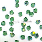 4mm Erinite AB (360 AB) Swarovski crystal 5328 / 5301 Loose Bicone Beads